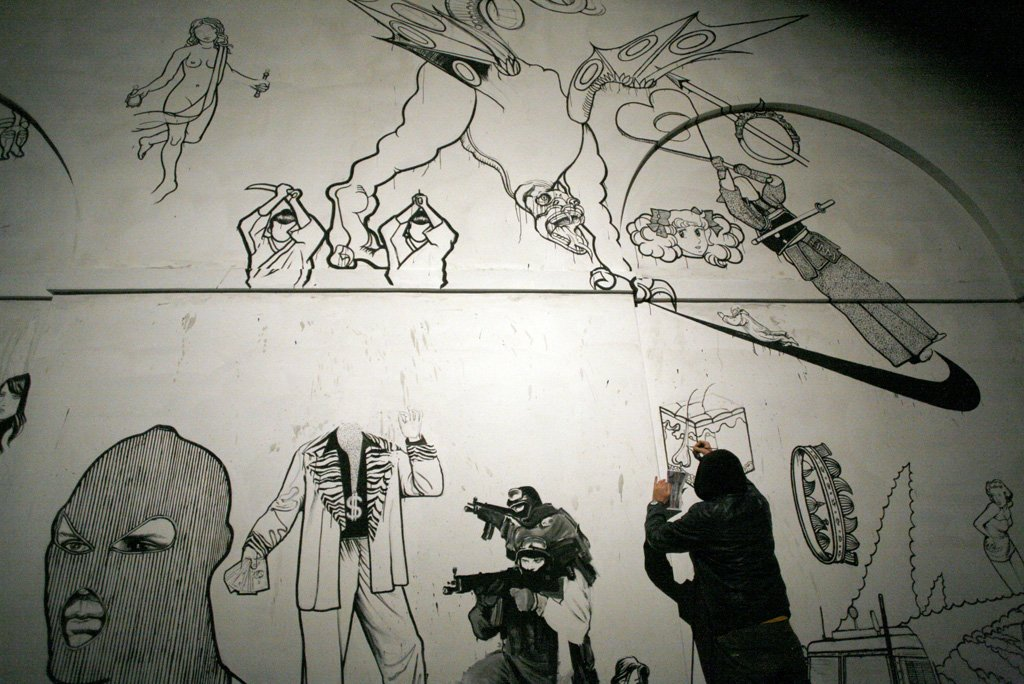 Ozmo 'Apocalypse' Prato 2008/2011 work in progress
