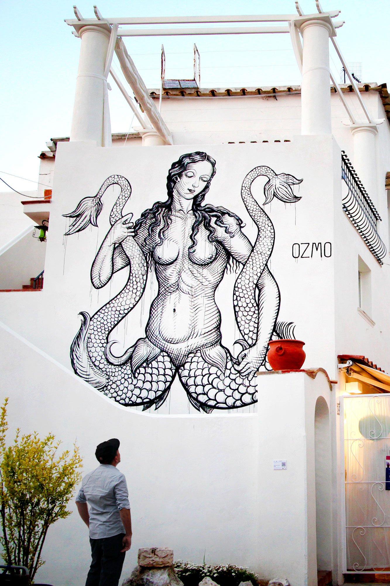 Syren in the Island of Capri