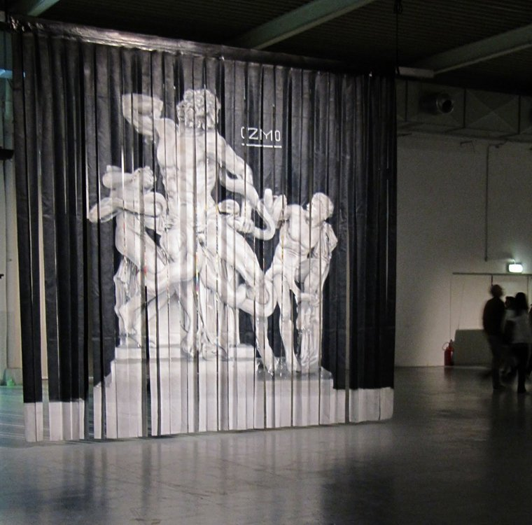 Ozmo Graffiti Ruined my Life, 2010 installation view