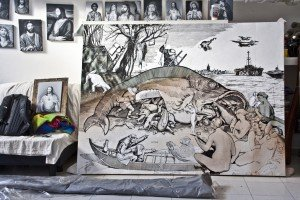 Ozmo's Studio with 'Big Fish..' 2012
