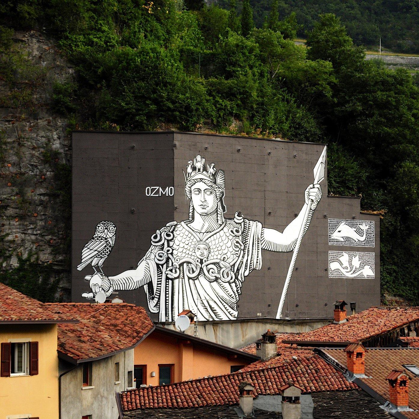 Minerva , Breno , Wall In Art 2015