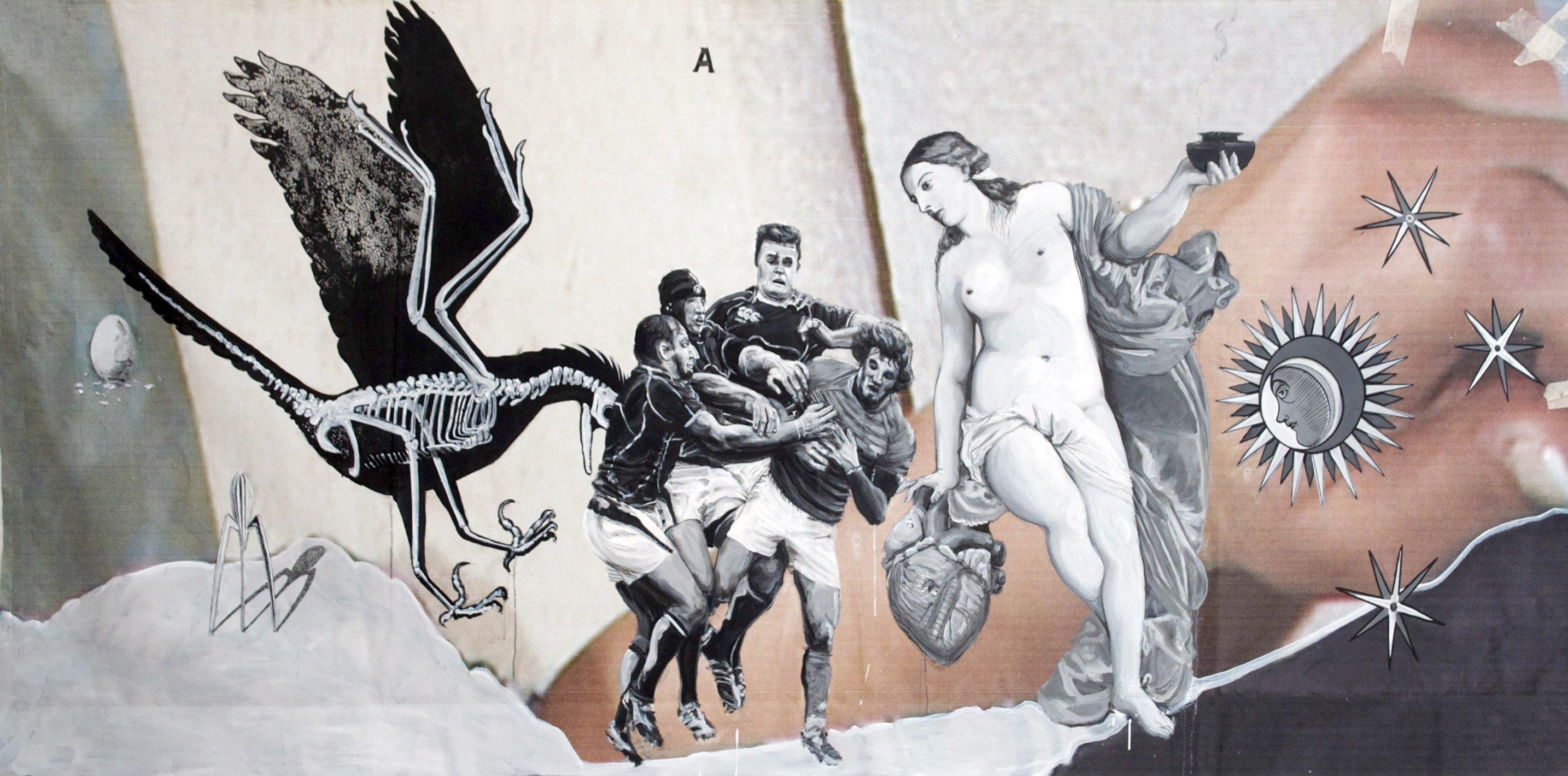 untitled 135 x 300 cm 2012