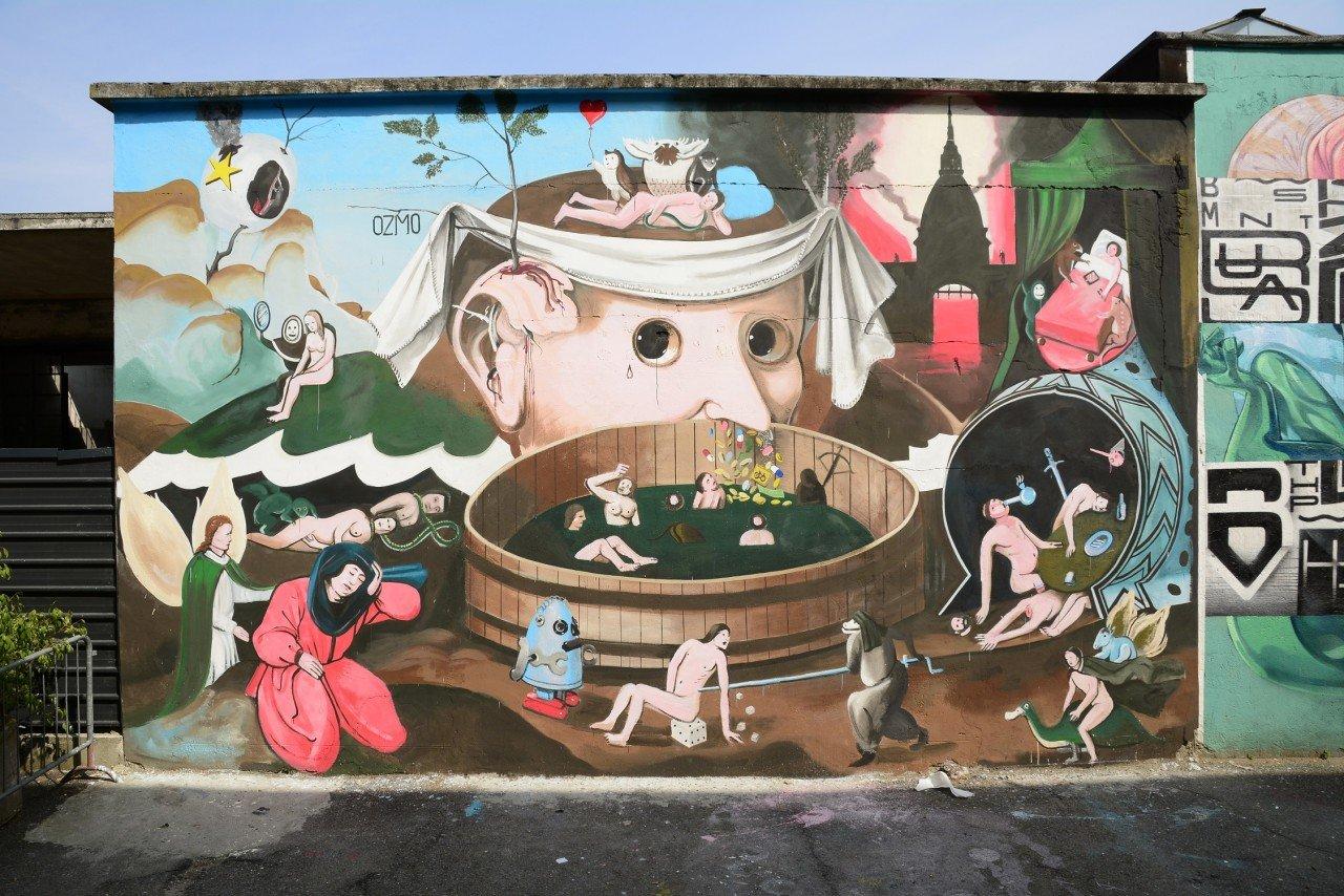 OZMO - Tondal's Vision - Turin- Urban Art Field project - credit Un-Dogma 2015