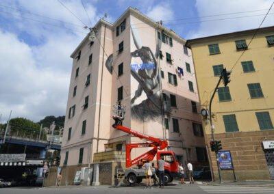 Ozmo Amore e Psiche , Genova 2019 Work in Progress